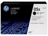 HP 05X must toonerikassett CE505X