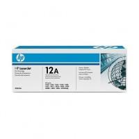 HP 12A must toonerikassett Q2612a