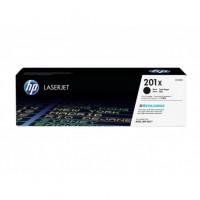 HP 201X must toonerikassett CF400X