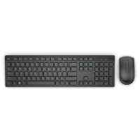 Dell Wireless Keyboard and Mouse-KM636 - UK (QWERTY) - Black
