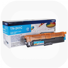 Brother TN-241C Toner Cartridge, Cyan