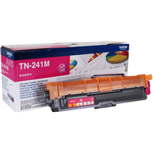 Brother TN-241M Toner Cartridge, Magenta