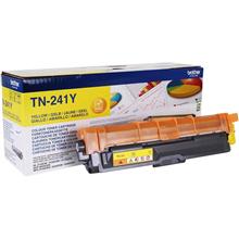 Brother TN-241Y Toner Cartridge, Yellow
