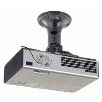 NewStar BEAMER-C50 Projector Ceiling Mount (height: 19 cm) till 10kg, c:black
