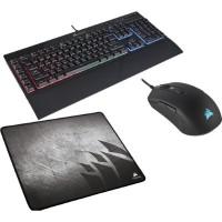 Corsair Gaming Bundle: Keyboard K55 RGB / Mouse M55 RGB Pro / mouse Pad MM300 Medium