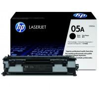 HP 05A must toonerikassett CE505A