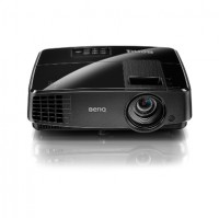 MS506 black, DLP 3D Ready; SVGA 800x600; 13'000:1, 3200 Lumens; 1.8kg; 10000 hrs(LampSave mode),2W speaker; 2xVGA