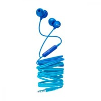 Philips UpBeat In ear headphones with mic SHE2405BL 8.6mm drivers/closed-back integrated mic Blue In-ear