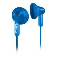 Philips In-Ear Headphones SHE3010BL 14.8mm drivers/open-back Earbud