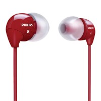 Philips In-Ear Headphones SHE3590GY Red