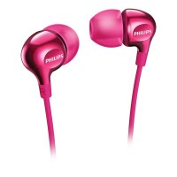 Philips Headphones SHE3700PK 8.6mm drivers/closed-back In-ear