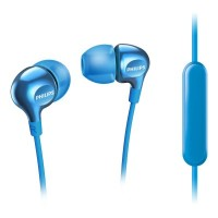Philips Headphones with mic SHE3705LB 8.6mm drivers/closed-back In-ear