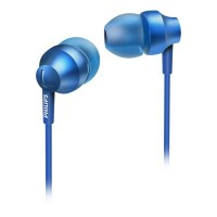 Philips Headphones SHE3850BL 8.6mm drivers/closed-back In-ear
