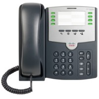8 Line IP Phone With PoE and PC Port