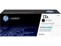 HP 17A must toonerikassett CF217A