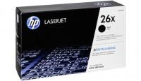 HP 26X must toonerikassett CF226X