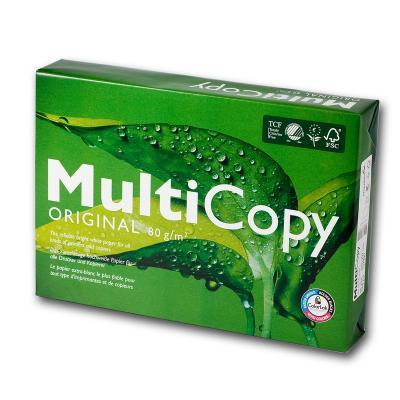 Koopiapaber MultiCopy A4 80g/m2, 500 lehte 3Re