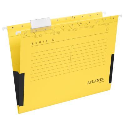 Rippkaaned E-SERIE Jalema A4 turvaribaga, kollane 3Re