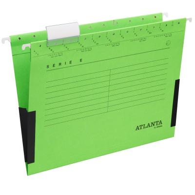 Rippkaaned E-SERIE Jalema A4 turvaribaga, roheline 3Re