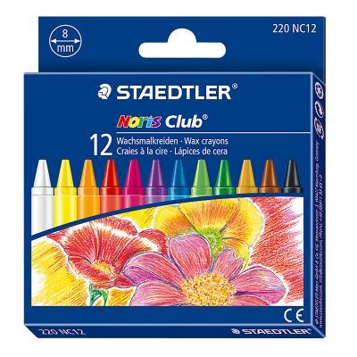 Rasvakriidid Staedtler Noris Club 220, 12 värvi