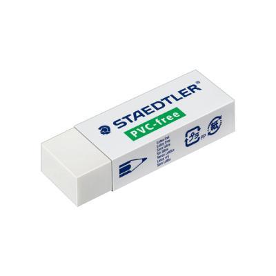 Kustutuskumm Staedtler PVC- vaba B20, 65x23x13mm