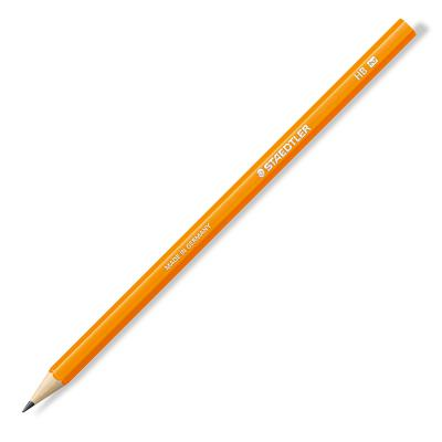 Harilik pliiats Staedtler Wopex NEON LINE HB, oranž korpus