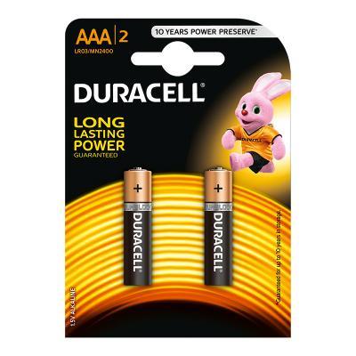 Patarei Duracell Plus AAA / MN2400 B2 2 tk.