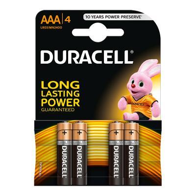 Patarei Duracell MN 2400 Basic AAA (LR03), 4 tk