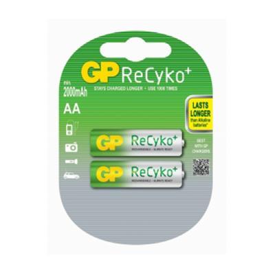 Akupatarei GP ReCyKo+, AA/LR6, 1,2V, 2000mAh, 2tk/pk