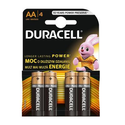 Patarei Duracell MN1500 Basic AA LR6 4tk/pk