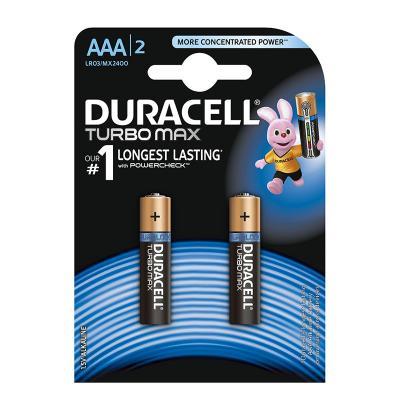 Patarei Duracell TurboMax AAA, 2 tk