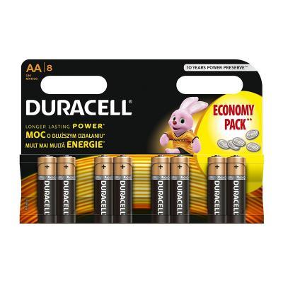 Patareid Duracell AA, 8 tk
