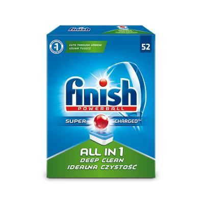 Nõudepesumasina tabletid Finish ALL in 1 Powerball, 52 tk