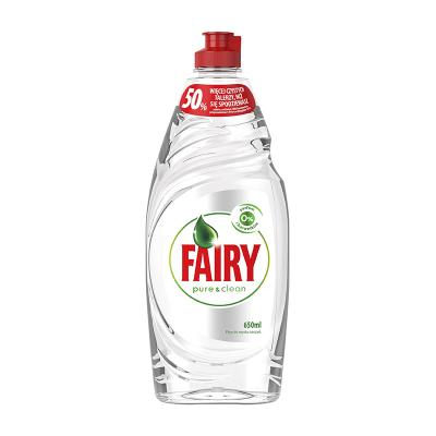Nõudepesuvahend Fairy Pure&Clean, 650 ml
