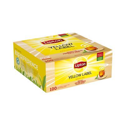 Tee Lipton Yellow Label, must tee, 100 tk