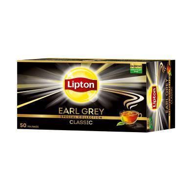 Tee Lipton Earl Grey, must tee, 50 tk