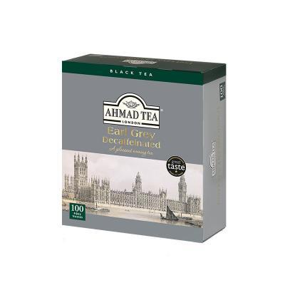 Must tee Ahmad Earl Grey, kofeiinivaba, 100 tk